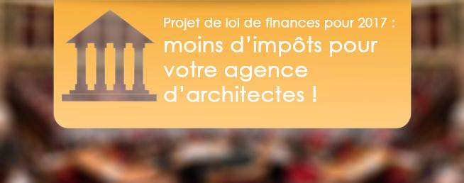 Compta-Architectes.com - Projet de loi de finances pour 2017