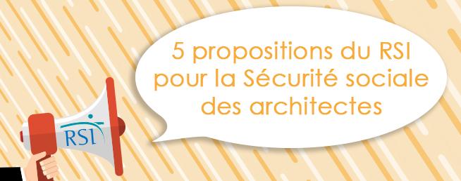 Compta-Architectes.com - 5 propositions du RSI pour la Sécurité sociale des architectes
