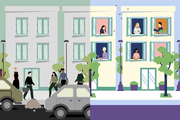 Habitat urbain avant et après le Covid-19