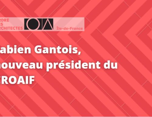 Fabien Gantois : Nouveau président élu du Conseil régional de l'Ordre des architectes d'Ile-de-France