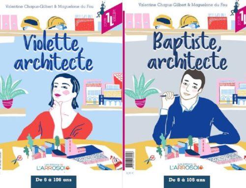 Sortie exclusive du livre jeunesse sur le métier d'architecte