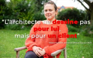 Yolaine Paufichet, architecte DPLG interview